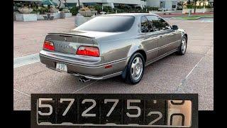 The 572,750 Mile Acura Legend:  Background & Detailed Walkaround