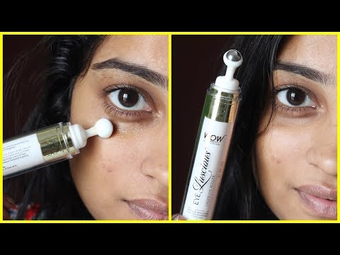 Wow Eye Gel For No More Dark Circles Indian Mom On Duty Youtube
