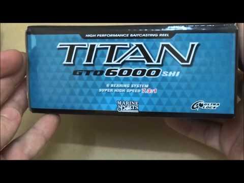 Carretilha Marine Sport Titan Gto 6000