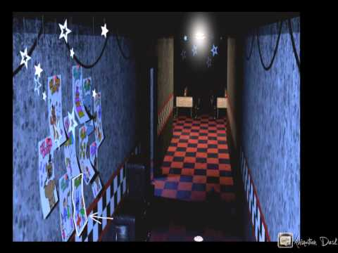 In-Depth Explanation On SpringTrap In FNaF 1: Picture In Foxy's Hallway