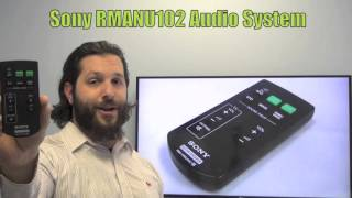 SONY RMANU102 Audio System Remote Control - www.ReplacementRemotes.com