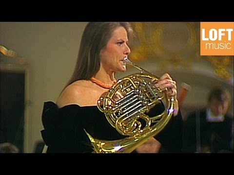 Richard Strauss - Concerto for French Horn & Orchestra No 1 Op. 11 (Marie-Luise Neunecker)