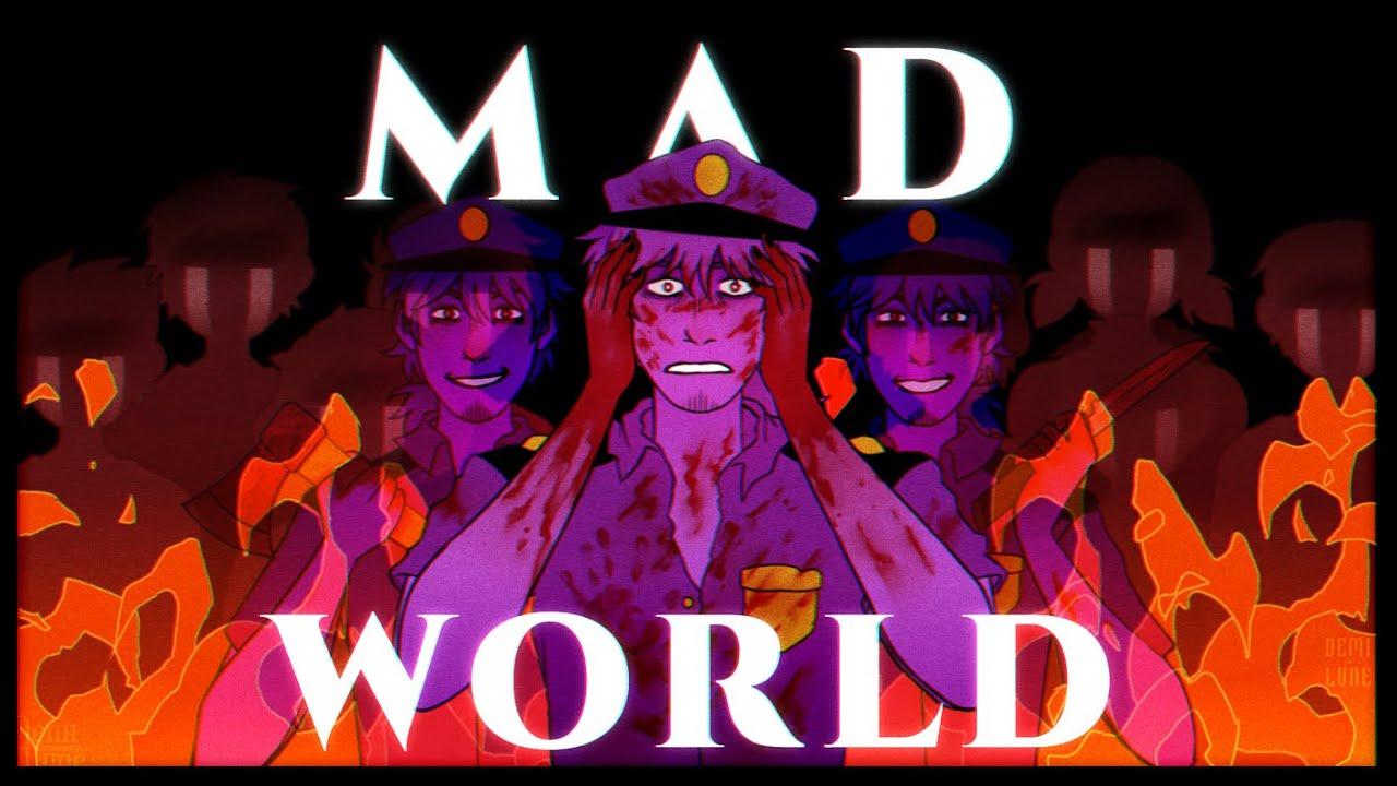 Download Mad World    Animation Meme    FNAF/Purple Guy