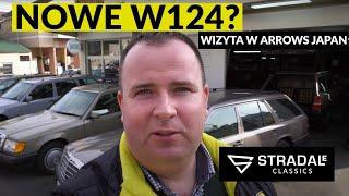 Mercedes W124 - specjaliści z Japonii | Japan Vlog #5