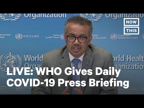 WHO Daily Press Briefing | LIVE | NowThis