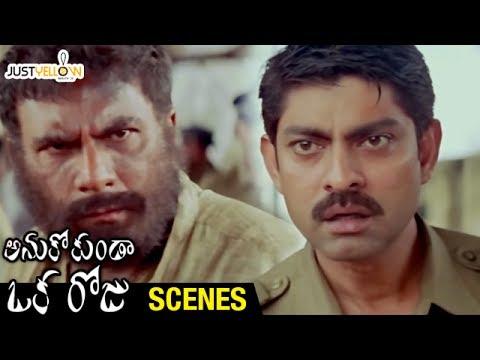 Jagapathi Babu Shocked by Pavan Malhotra  Anukokunda Oka Roju Movie s  MM Keeravani
