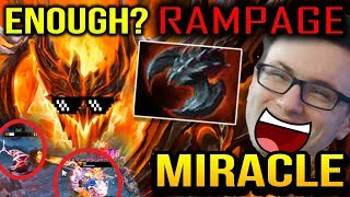 Miracle SF: IS HIS RAMPAGE ENOUGH TO Win THIS GAME? Dota 2