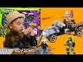 Rhys Reviews the TMNT TURTLE RACER including Donnie & Casey Jones by MEGA BLOCKS