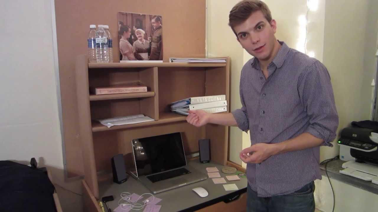 Dorm Shelves Over Desk  brusjesblog