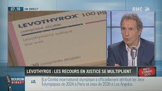 Scandale Levothyrox : Bourdin s'en prend à la Ministre de la Santé Agnès Buzyn (RMC, 14/09/17, 7h18)
