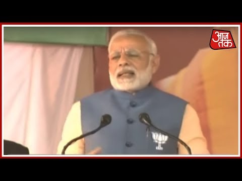 Will Save Karnataka From It's 'Congress Culture'- PM Modi Live From Bangalore