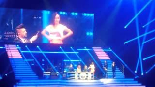 Alizée - La Chanson des Restos - Tournée DANSE AVEC LES STARS - 31.01.2015 @ Zénith de paris