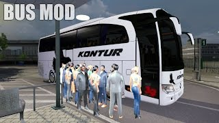ETS2 TRAVEGO BUS MOD (Euro Truck Simulator 2)