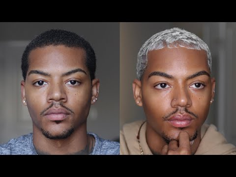 From Black To Platinum (hair Bleaching Routine + Maintenance) | Tarek Ali