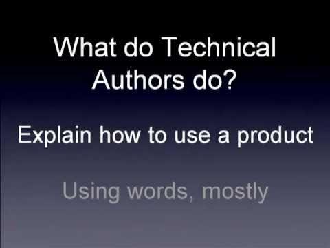 Technical Writing in 20 minutes - Part 1
