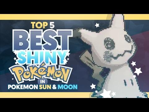 Top 5 Best Shiny Pokemon in Pokemon Sun and Moon