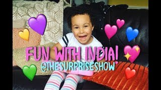 Fun with India - #EasterHolidays #TheSurpriseShow #MileyandIndia