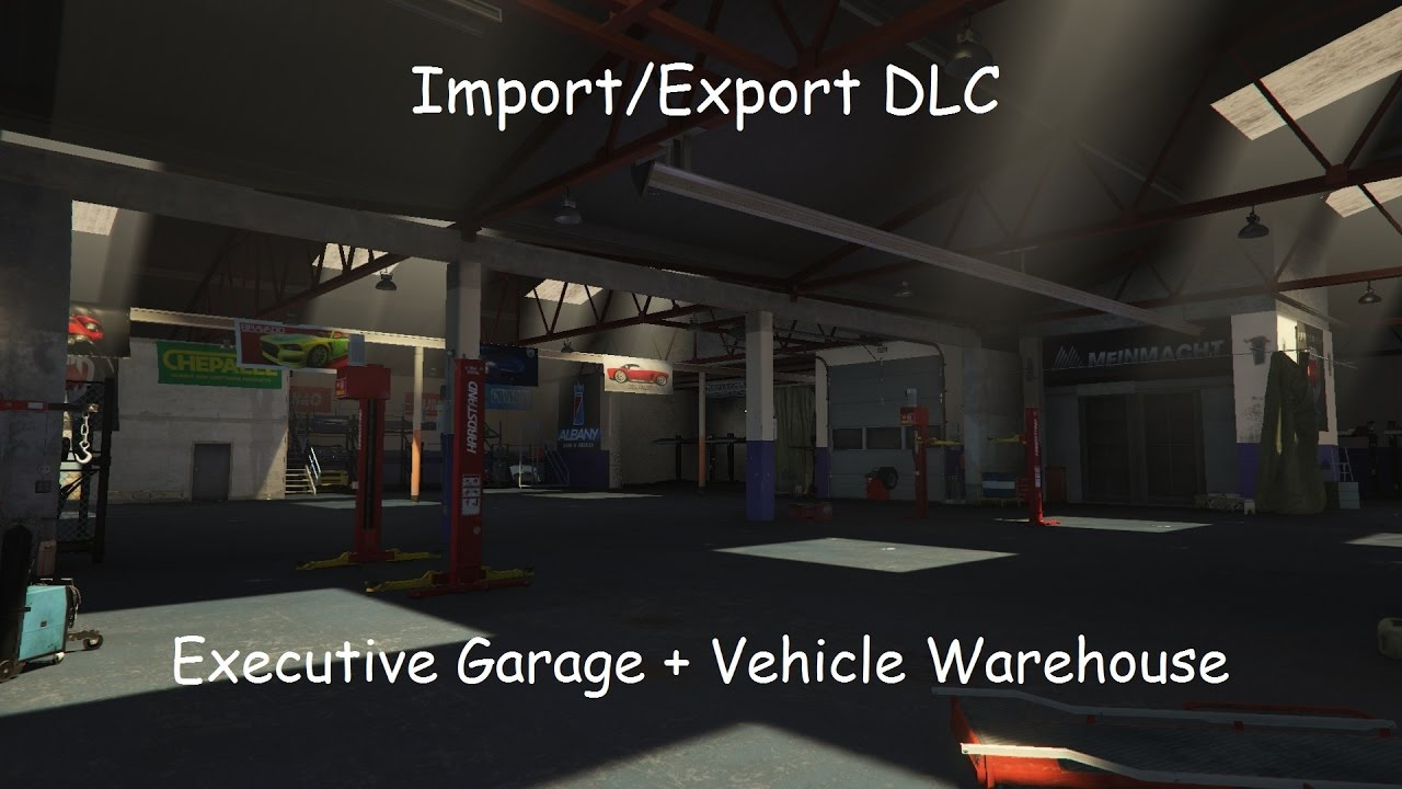 Gta online import export dlc new executive garage for Garage new s villejuif