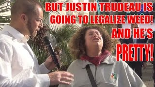 Nicest Canadian ever realizes the truth about evil pretty boy Trudeau