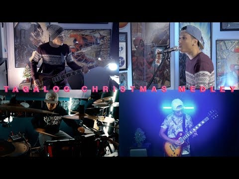 tagalog christmas medley (punk rock cover by tuh) ft. talodz + isplakitengtengks07