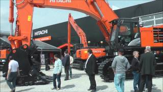 Hitachi Zaxis 870 excavator on display @ Bauma 2013
