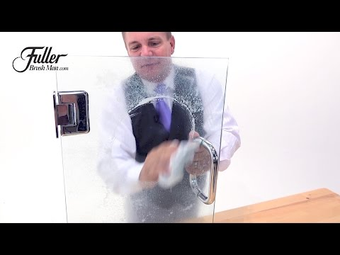 How to clean shower doors and stop water spots and soap scum from coming back!