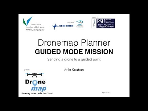 Sending the Drone to a waypoint in GUIDED mode by Anis Koubaa on YouTube