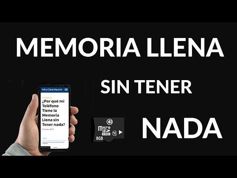 ¿Por qué mi Teléfono Tiene la Memoria Llena sin Tener nada?