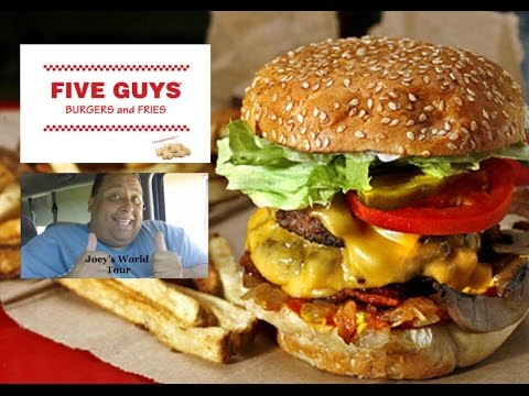 Five Guys Burgers & Fries Bacon Cheeseburger Review!