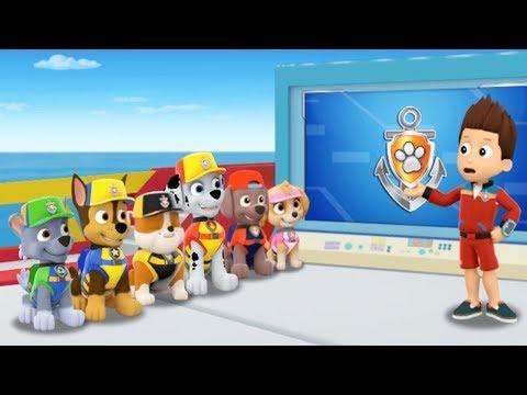 PAW Patrol Mission Paw - Sea Patrol Adventures Puppy New Kids Game - Nickelodeon Jr Game for Kids