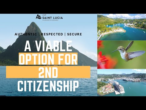 SAINT LUCIA – Viable Option for 2nd Citizenship