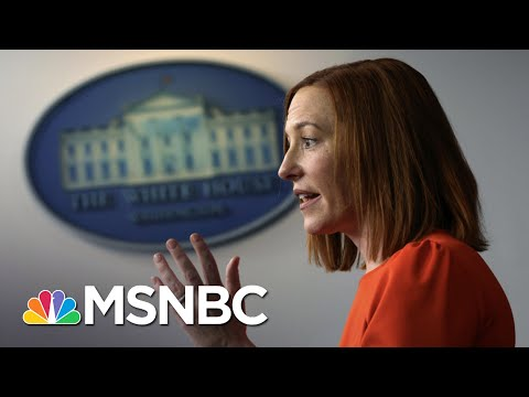 Biden White House Briefings Jarringly Normal After Trump | The 11th Hour | MSNBC
