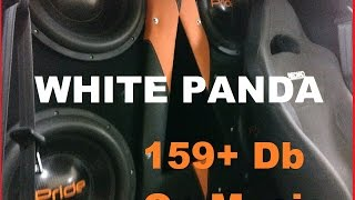 BassMechanix White Panda 2015 первый запуск