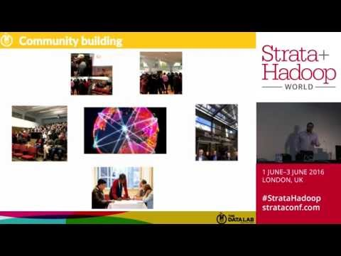 StrataHadoop 16 - Experiments in The Data Lab: Creating a national hub for data science in Scotland