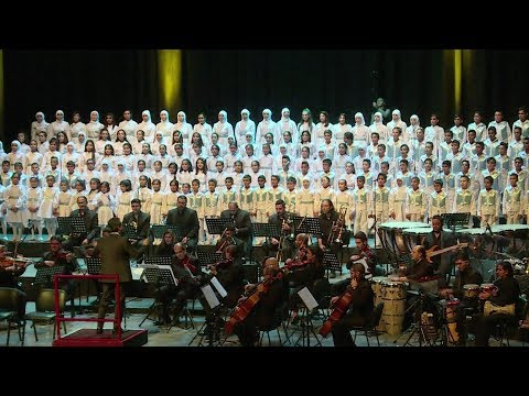 Concert gives Syrian children displaced by war a chance to shine