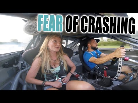 Laura's First Drift REACTION In 900HP SHELBY SUPER SNAKE Mustang