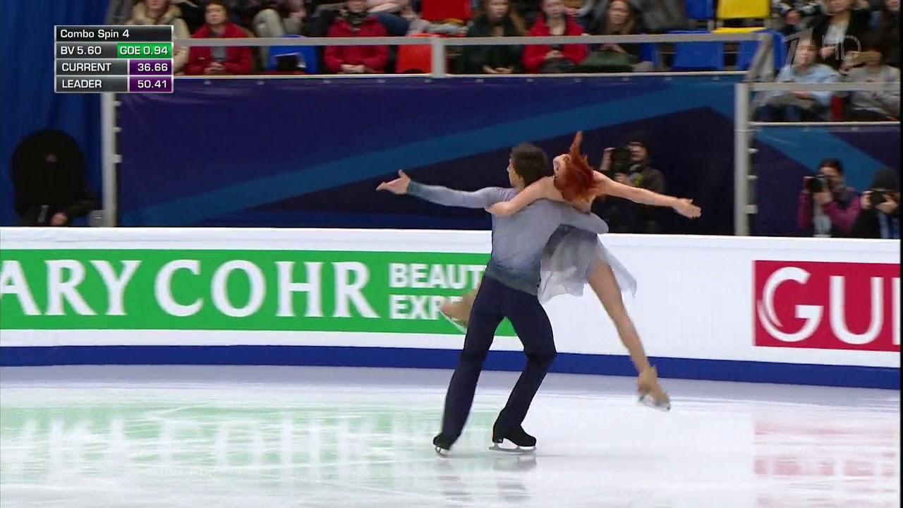 2018 Euros   Dance FD   Tiffany Zahorski & Jonathan Guerreiro   Muse medley