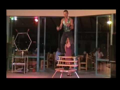 DUO MARKOFF rolo balance -2008-presents Art agency Valentino