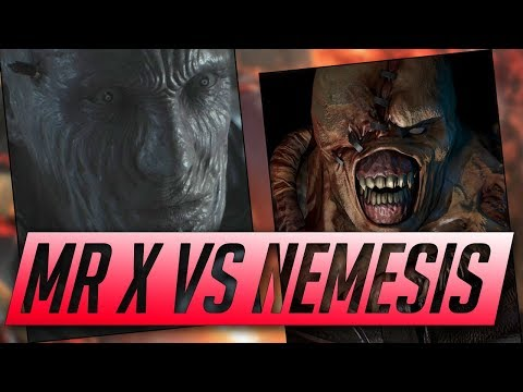 Mr X Resident Evil 2 Remake Tyrant Analysis - (Mr X VS Nemesis)