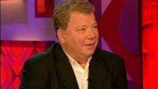 Rare - William Shatner's FIRST Appearance on Jonathan Ross 2006 Part 1 of 2