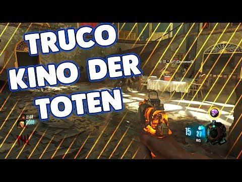 CALL OF DUTY BLACK OPS 3 ZOMBIES CHRONICLES GLITCH/TRUCO KINO DER TOTEN REMASTERIZADO
