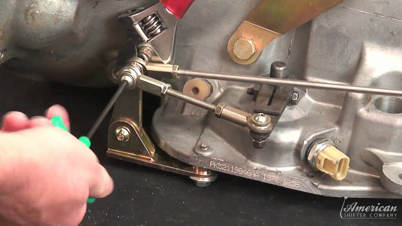 hight resolution of chrysler 727 dual action shifter installation video from american shifter co