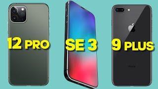 iPhone SE 3, iPhone 9 Plus és iPhone 12 Pro