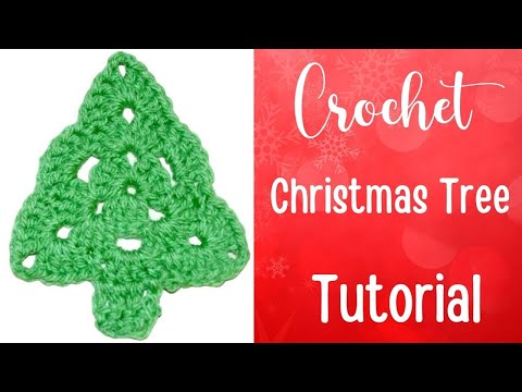 Crochet Christmas Tree Tutorial - Crochet Jewel