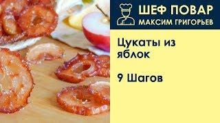 Цукаты из яблок . Рецепт от шеф повара Максима Григорьева