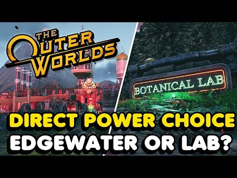 The Outer Worlds - Where Should You Redirect The Power To? (Choice Guide)