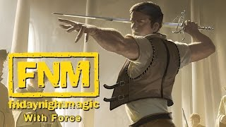 FNM with Force - White Weenie Air (MTG Duels 2015 Multiplayer)