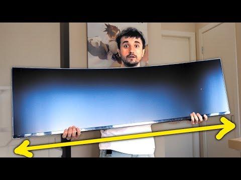 ISSO É INSANO! - Monitor Super Ultra-Wide
