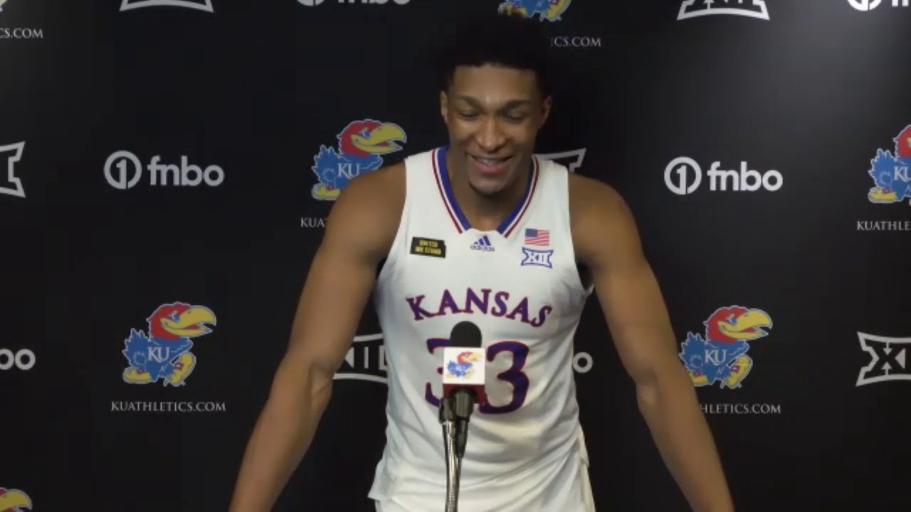 Kansas Jayhawks' David McCormack scores 22 points in return from ...