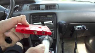 Cleaning and Demagnetizing my Toyota's Cassette Tape Deck